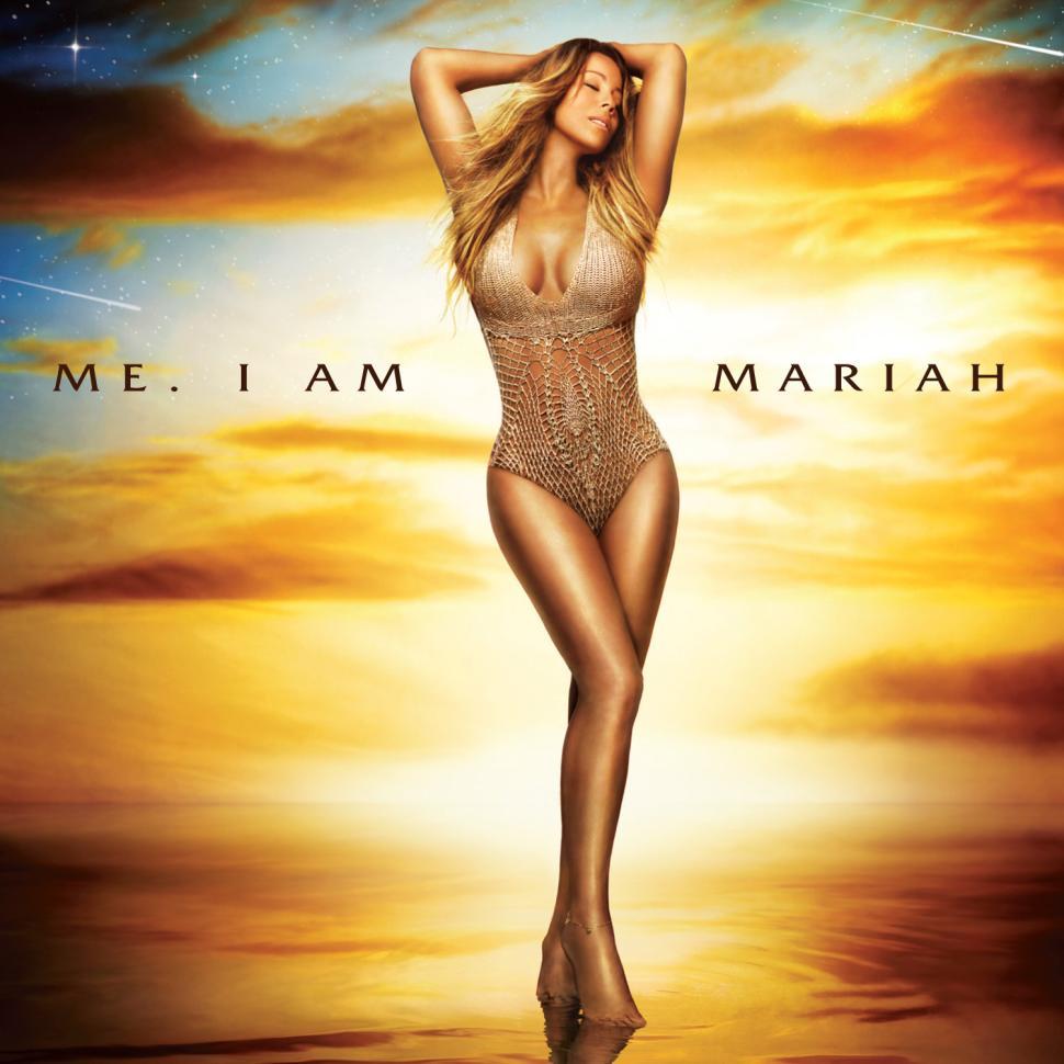 "Capa do álbum ""Me. I am Mariah (The Elusive Chanteuse)"""
