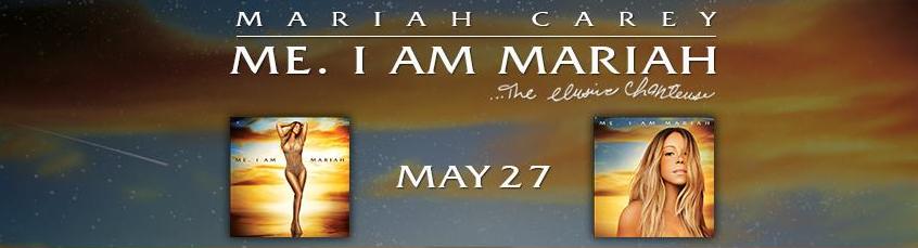 Me I am Mariah - capas dos CDs