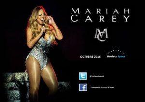 Mariah Carey se apresentará na America do Sul em Outubro