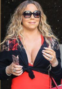 Mariah Carey aumento de peso