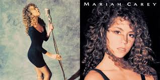 "Capa do álbum ""Mariah Carey"" (1990)"