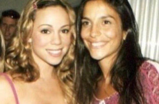 Mariah Carey com Ivete Sangalo em 1999